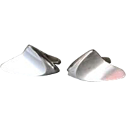 Georg Jensen Sterling Silver Cufflinks No. 88 By Henning Koppel