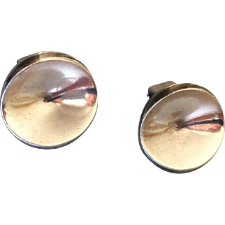 Georg Jensen Sterling Silver Earrings No. 136C by Nanna Ditzel