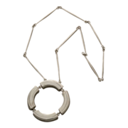 Georg Jensen Sterling Silver Necklace by Astrid Fog No. 137