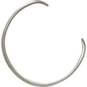 Sterling Silver Neck Ring by Ove Wendt for Fausing