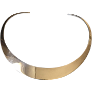 Ronald Hayes Pearson Sterling Silver Neck Collar