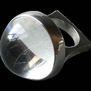 Georg Jensen Sterling Silver Ring No. 169 by Bent Gabrielsen.