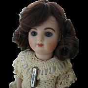 Vintage Saran wig c. 1950's Tiny