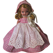 Nancy Ann Storybook doll and friend