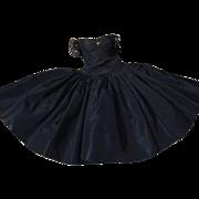 Madame Alexander Cissy black taffeta dress