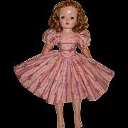 Madame Alexander Cissy ribbons and roses dress