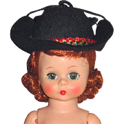 Madame Alexander vintage Alexander-kins Cowgirl hat