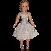 Gorgeous vintage 1950's fashion doll dress