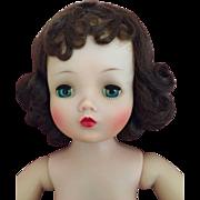 Dramatic Madame Alexander brunette vintage Cissy