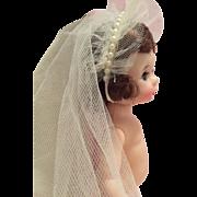 Small dolls vintage veil