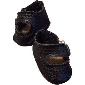 Original 1930's Alexander tiny leather shoes