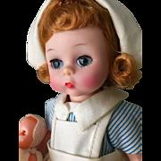 "Vintage Madame Alexander 8"" Wendy nurse"