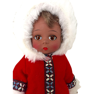"Adorable 8"" Madame Alexander Eskimo"