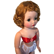 Madame Alexander vintage Cissy blonde curly hair