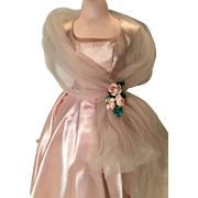 Cissy tagged tulle wrap evening gown by Madame Alexander