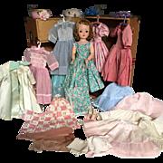 Madame Alexander vintage Cissy trunk set collection