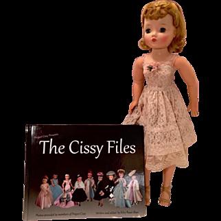 Madame Alexander vintage Cissy The Cissy Files book