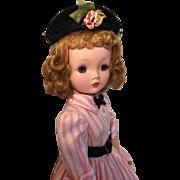 Vintage Madame Alexander Cissy in original shirtwaist dress