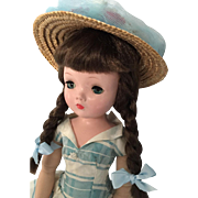 "Vintage Madame Alexander Cissy face 18"" Winnie Walker doll"