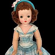 Madame Alexander vintage Cissy in stripes