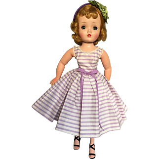 Pretty vintage summer dress and headband for vintage Cissy and others