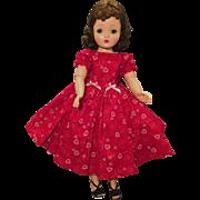 Valentine heart dress for Cissy or Revlon doll