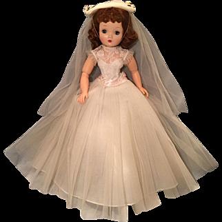 1956  vintage Madame Alexander Medici Bridal outfit
