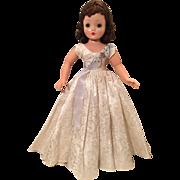 Madame Alexander vintage Cissy queen dress