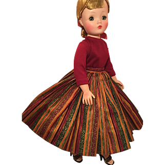 Great complete skirt outfit for Cissy