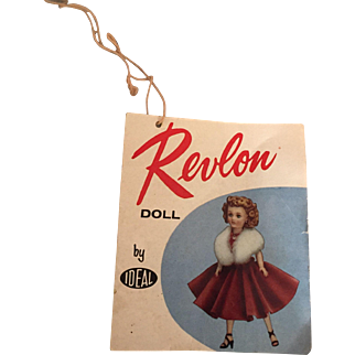 Miss Revlon original wrist tag number 1
