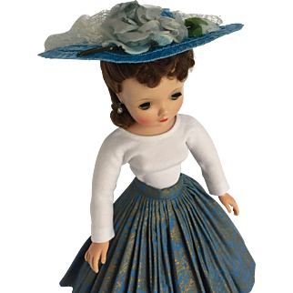 Gorgeous skirt set and hat for Cissy