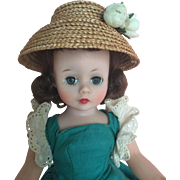 Early Madame Alexander brunette Cissette doll