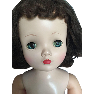Early brunette vintage Cissy doll
