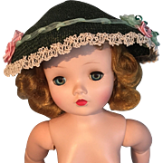Hat for bisque or vintage doll