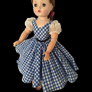 Madame Alexander tagged Cissy dress