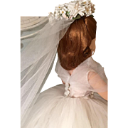 Cissy bride ensemble only NO DOLL