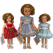 Ideal Shirley Temple doll collection