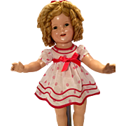 Original tagged Shirley Temple doll dress