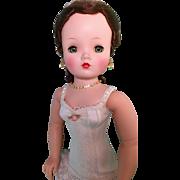 Brunette rare hairstyle Vintage Cissy