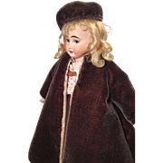 Charming old mohair coat and hat