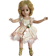 """Babs Skating doll in pink 14"""""""