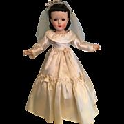 Original Madame Alexander combo bride dress 1930's