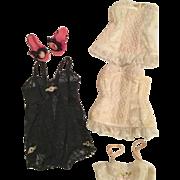 Group of Madame Alexander Cissy lingerie