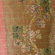 Antique Fabric for French Fashion,  Early Wood Dolls
