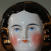 Beautiful Antique Mary Todd China Doll Head