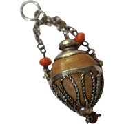 Fab Antique Chatelaine for French Fashion, China Doll