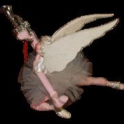 Klumpe Christmas Angel Doll/Ornament/Decoration Vintage