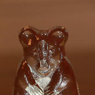 Riedel Crystal Teddy Bear For Doll or Teddy Collection