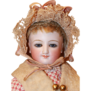 Antique Bonnet for French Fashion, China Doll