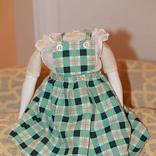 Circa 1930s Apron for Cloth, China Dolls